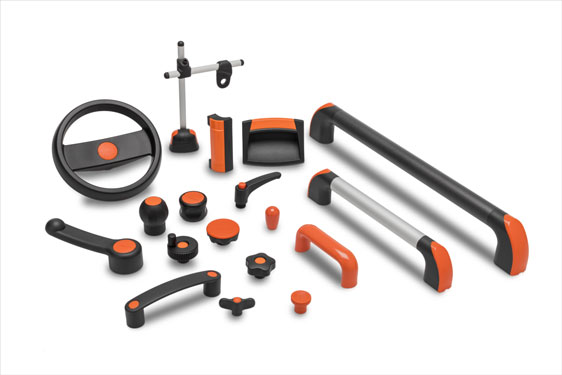 Extensive selection of standard components from Elesa in ELECOLORS