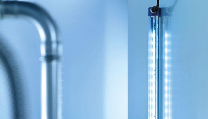 L'RL25 LE, quando viene utilizzato in macchine e impianti o nelle relative periferie, garantisce la migliore illuminazio
