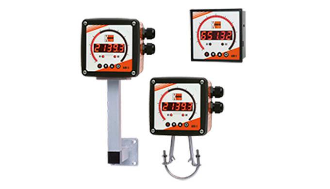 Eingang: Strom, Spannung, Frequenz Anzeige: Digital, Bargraph kombiniert Ausgang: Analogausgang, Kontakte, Sensorversorg