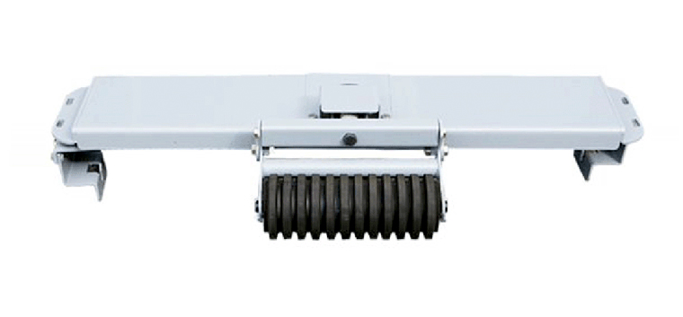 1. Dies ist ein Gürtel selbst ausrichten Vorrichtung, die verhindert, dass das Förderband vom gehen im ZickZack und Roll