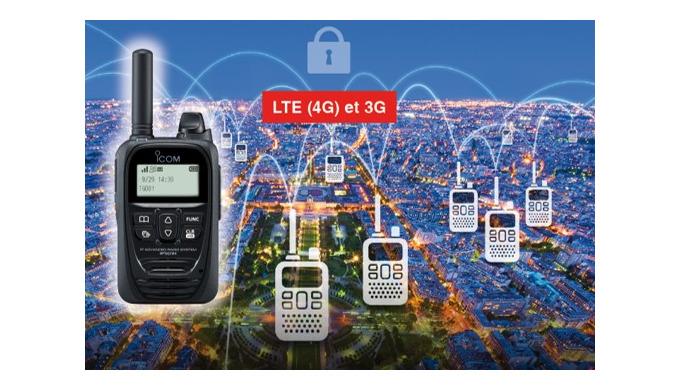 SOLUTION RADIO LTE (4G)/3G ICOM