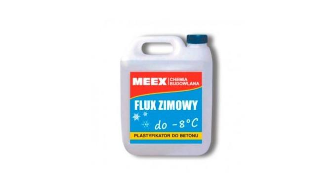 FLUX ZIMOWY - Aditiv antiînghet pentru beton, beton armat şi precomprimat , pentru mortare de var – ciment. Permite exe