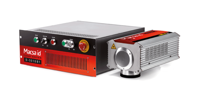 Sistema de marcaje láser: D-5000