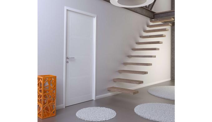 Portes isothermes : • Portes isothermes stables avec raidisseur intégré et âme isolante en polystyrène • Cadre résineux