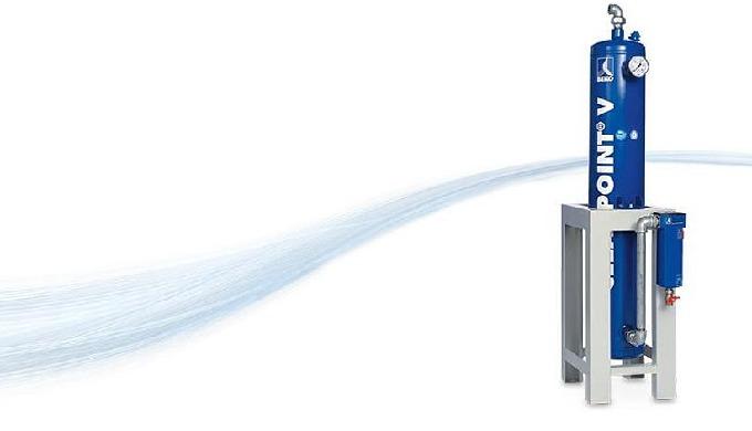 CLEARPOINT® V Aktivkohleadsorber -Minimaler Restölgehalt wirtschaftlich erreicht     Für die Sicherstellung einer