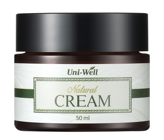 Natural Cream -Whitening + Anti-winkle cosmnetics -Natural Cosmetics for the first step of Derma fasting -Material : Pa