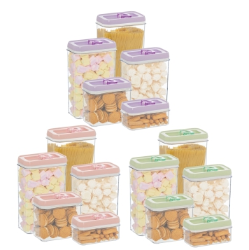 5 pcs Storage Canister Set 3 sets in Gift Box