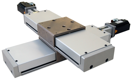Motorized precision slides with spindle drive
