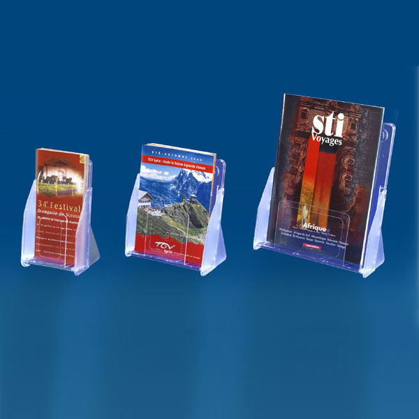 PORTE-BROCHURES BLUE-LINE SIMPLE CASE MURAL OU COMPTOIR - ASSEMBLABLES