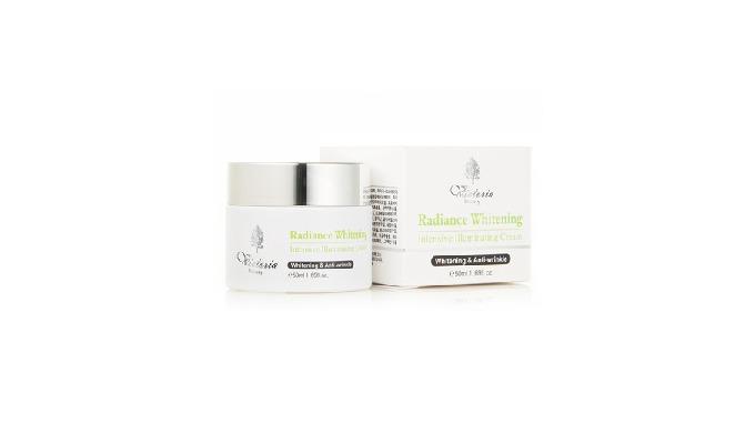 Doar o singură utilizare de concentrația mare strălucire albirea iluminare crema va face pielea neteda cu textura moale.