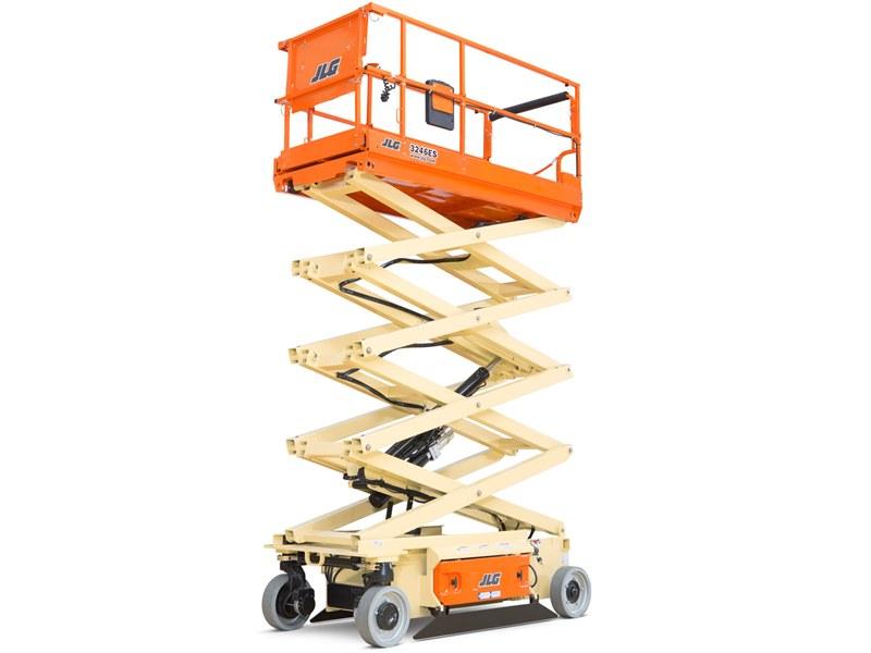 Alquiler de plataformas elevadoras tijera eléctricas diésel de oruga
