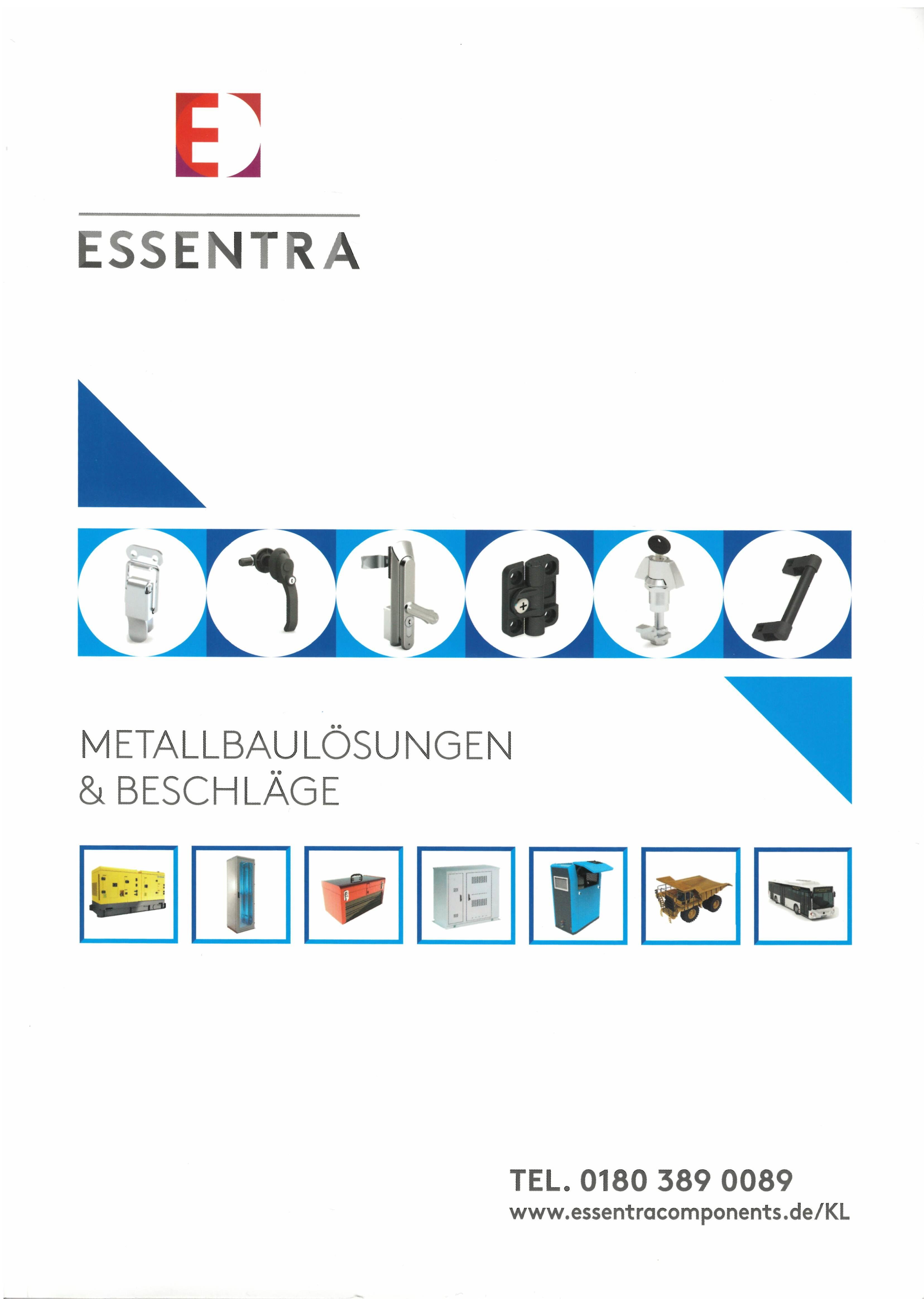 Essentra Components Metallbaulösungen & Beschläge
