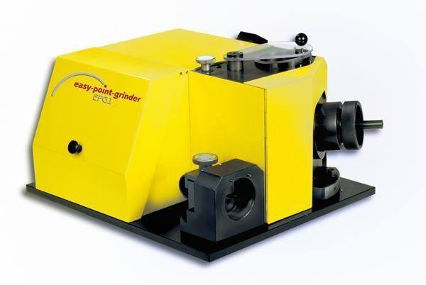 Die easy-ponit-grinder EPG-1 ist eine innovative Bohrerschleifmaschine – Swiss Made und in Schweizer Qualität. schleift