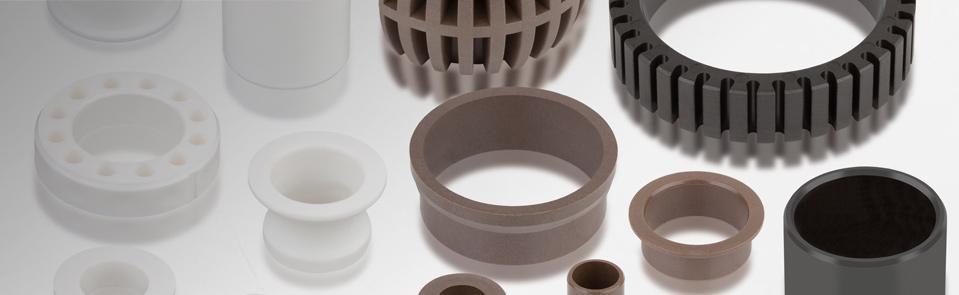 Technische Kunststoff-Gleitlager aus Thermoplast werden im Spritzgussverfahren hergestellt. So können wir Gleitlager uns
