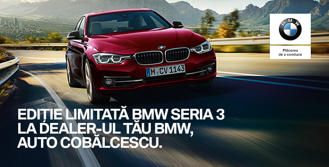Editie limitata BMW Seria 3