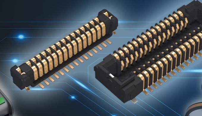 Pětiampérový konektor board-to-board Panasonic