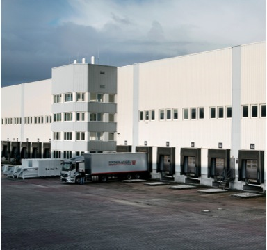 Neues Logistikzentrum in Hamburg Billbrook