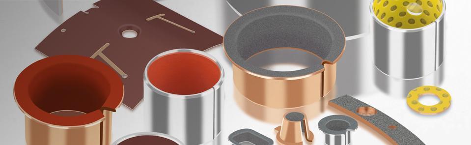 Mit ihren herausragenden Reibungs- und Verschleißeigenschaften eignen sich die Metall-Polymer Gleitlager von GGB ideal f