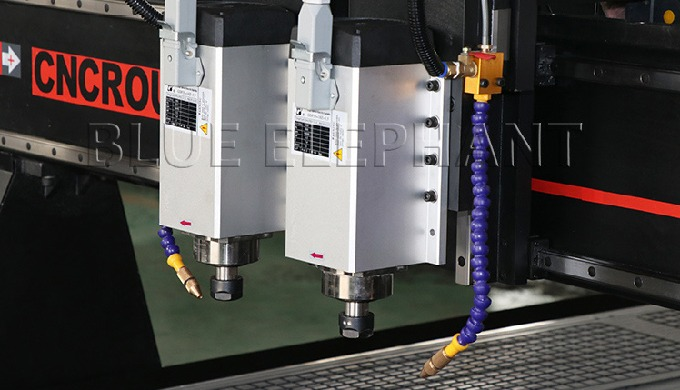 ELECNC-1530 Pneumatic System Double Spindles 4 Axis CNC
