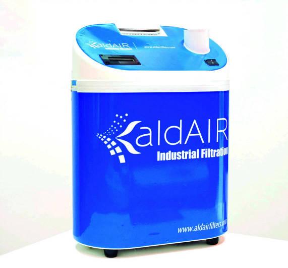 Equipo de Oxígeno Ionizado Aldair Industrial Filtration
