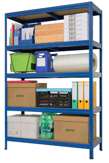Shelving systems- producer Metal shelving racks are traditional products of the company, the production of shelving pass