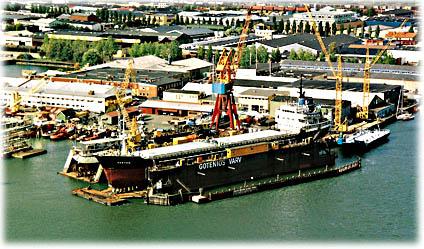 AB Gotenius Varv är ett reparationsvarv centralt beläget i Göteborgs Hamn. Verksamheten är uppbyggd kring 2 st. flytdock
