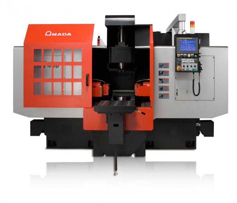 Amada THV430 double headed milling machine