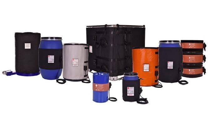 La solución perfecta para el calentamiento de productos contenidos en bidones, depósitos o contenedores. Comúnmente util