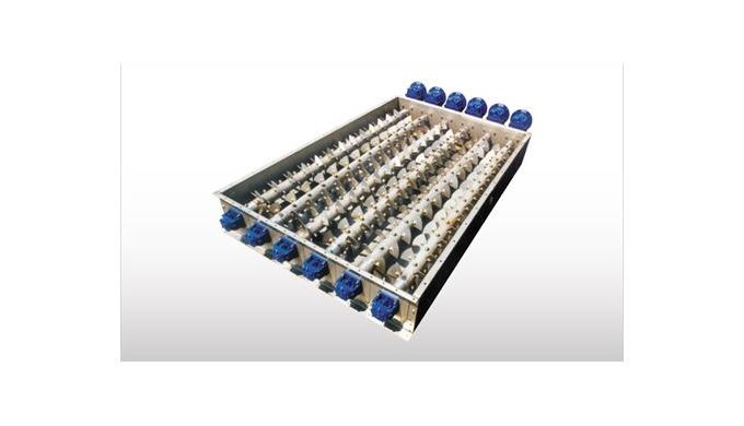 Para extraer materiales difíciles de tolvas poligonales o silos, WAMGROUP ha desarrollado una gama de Extractores de Fon