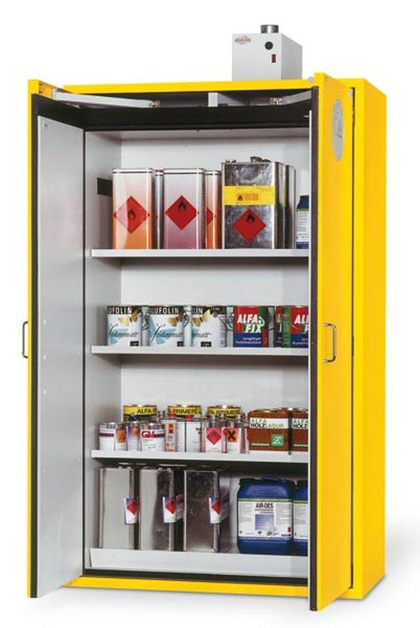 Deutsches Qualitätsprodukt. Kunststoffbeschichtetes Feinstahlblech, Brandschutzdämmung, hochwertige Türdichtungen. Kennz