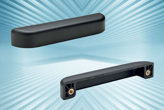 MLP reinforced polyamide side handles with finger protection