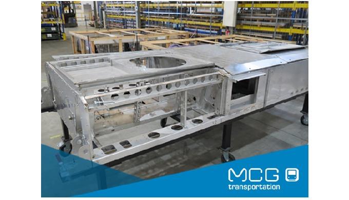 Novo projeto confirma MCG como especialista em estruturas para sistemas HVAC para comboios