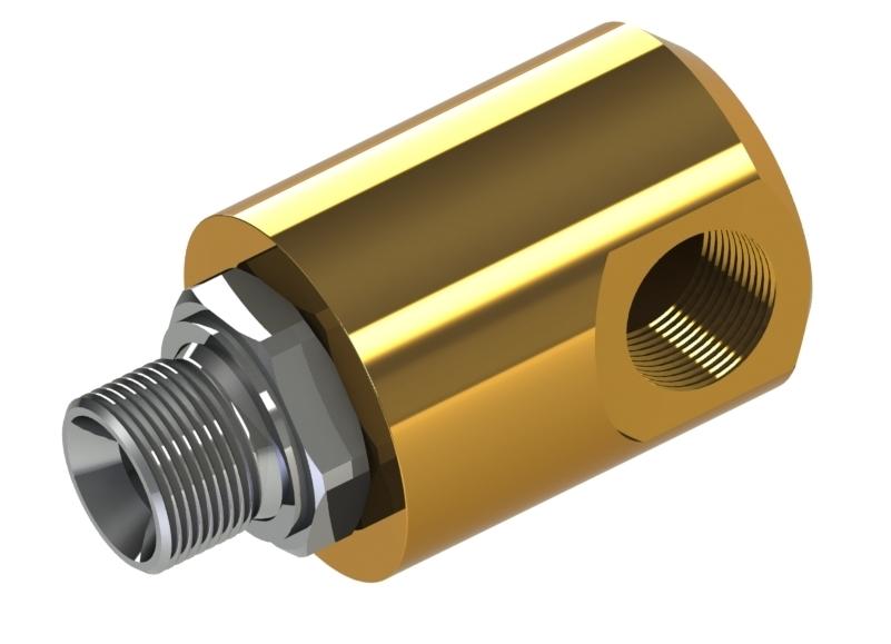 """Schlauchgelenk, einfach, Nennweiten G1/4"""" - G21/2"""" Produkteigenschaften: Stahl (verzinkt) oder Edelstahl Nitril-Dichtung"""
