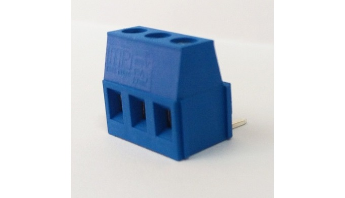 5,08mm no:1 L modular printed circuit terminal can be derived up to the desired number of poles by the structure of modu