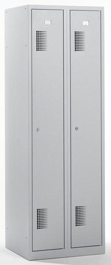 div. Grössen und VariationenGeschweißte Stahlblechkonstruktion. Korpus 0,6 mm, Türen 0,7 mm stark. Hochwertig pulverbesc