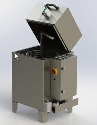 Odmašťovací stroj ADS 40 Firma TREFAL, spol. s r.o., Kunovice je výrobce celé řady odmašťovacích strojů.