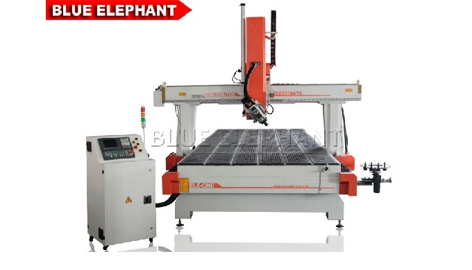 Features: 1. Like 2040 Carousel ATC CNC Router Machine, the machine was designed with round or carousel type auto tool c