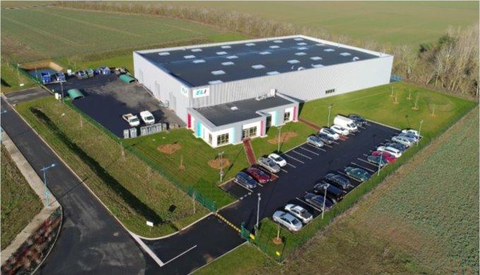Un nouveau bâtiment neuf de 3600M²
