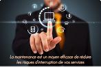 Maintenance préventive et curative de parc informatique (hotline, supervision, interventions sur site illimitées) Fourni