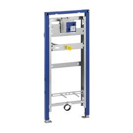 """Typ 144 Standard 1"""" sichtbare Urinalsteuerung selbsttragender Montagerahmen selbsthemmende höhenverstellbare Fussstützen"""