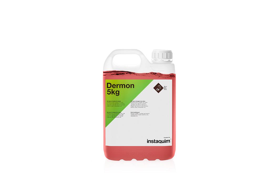Dermon, gel para el lavado de manos.