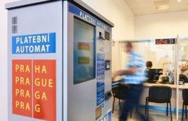 PLATEBNÍ AUTOMATY Elektronické platební automatynahrazují klasické pokladny obsluhované zaměstnanci. Na rozdíl od lids