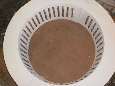 Embedded Cylindrical Segment