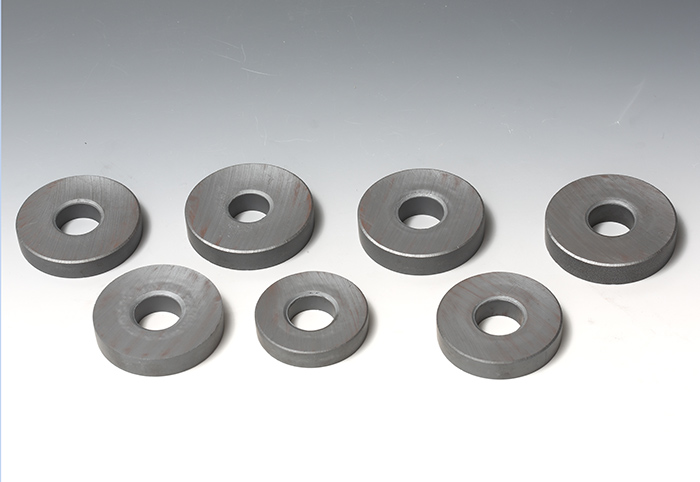 Ferrite magnets are sintered permanent magnets composed of Barium or Strontium Ferrite. This class of magnets, aside f