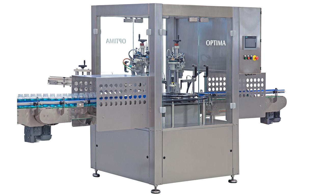 Behältnisse - Behältnis- oder Verschlusszufuhr als Schüttgut über vollautomatische Sortierung und optionaler Bevorratung