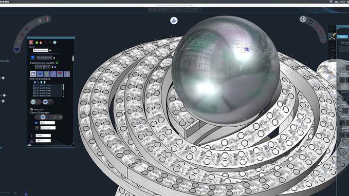3DESIGN es la solución de software de CAD 3D más innovadora del mercado y está dirigida a diseñadores y fabricantes de j