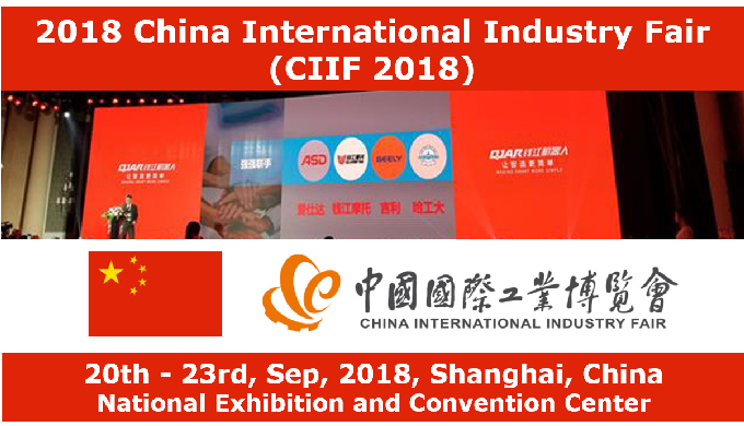MIJ opens booth at China International Industry Fair (CIIF 2018)