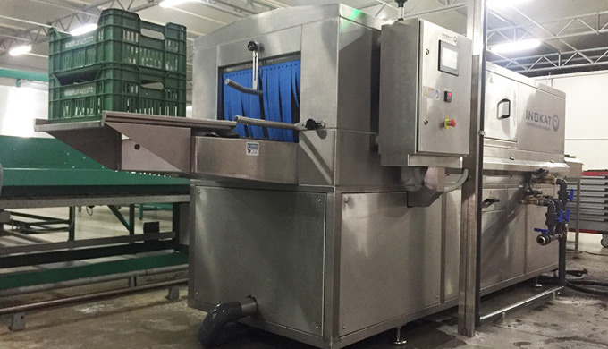 Washing machinery, food industry