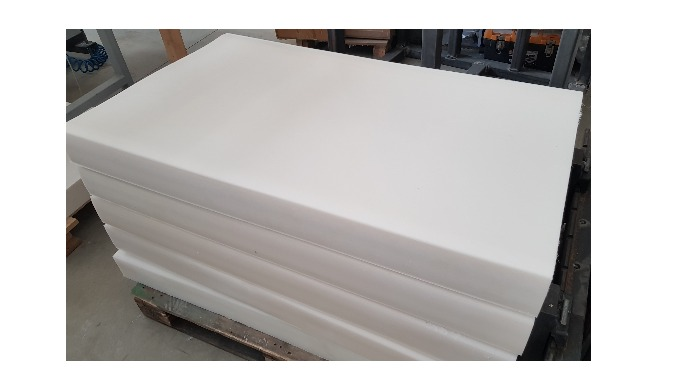 Cast PA6 G/C (Cast Polyamide) Sheets Thickness Range 10-100mm. Width: 1000mm. Lenght: 2000mm (Standard). Length can be t