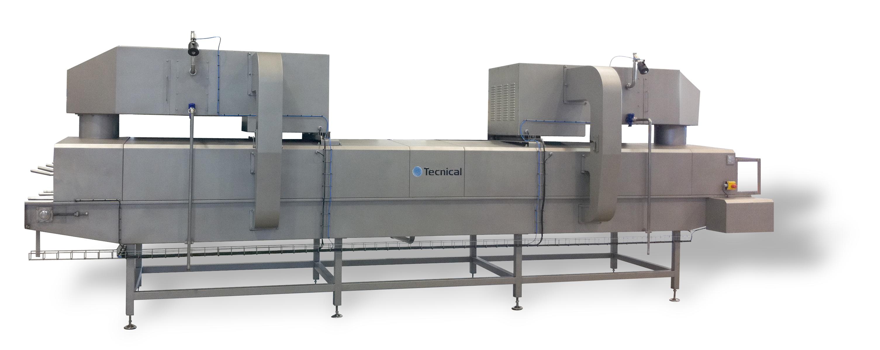 En diferentes puntos de la línea de fabricación de queso, es necesario una fase de secado, ya sea después de haber recib